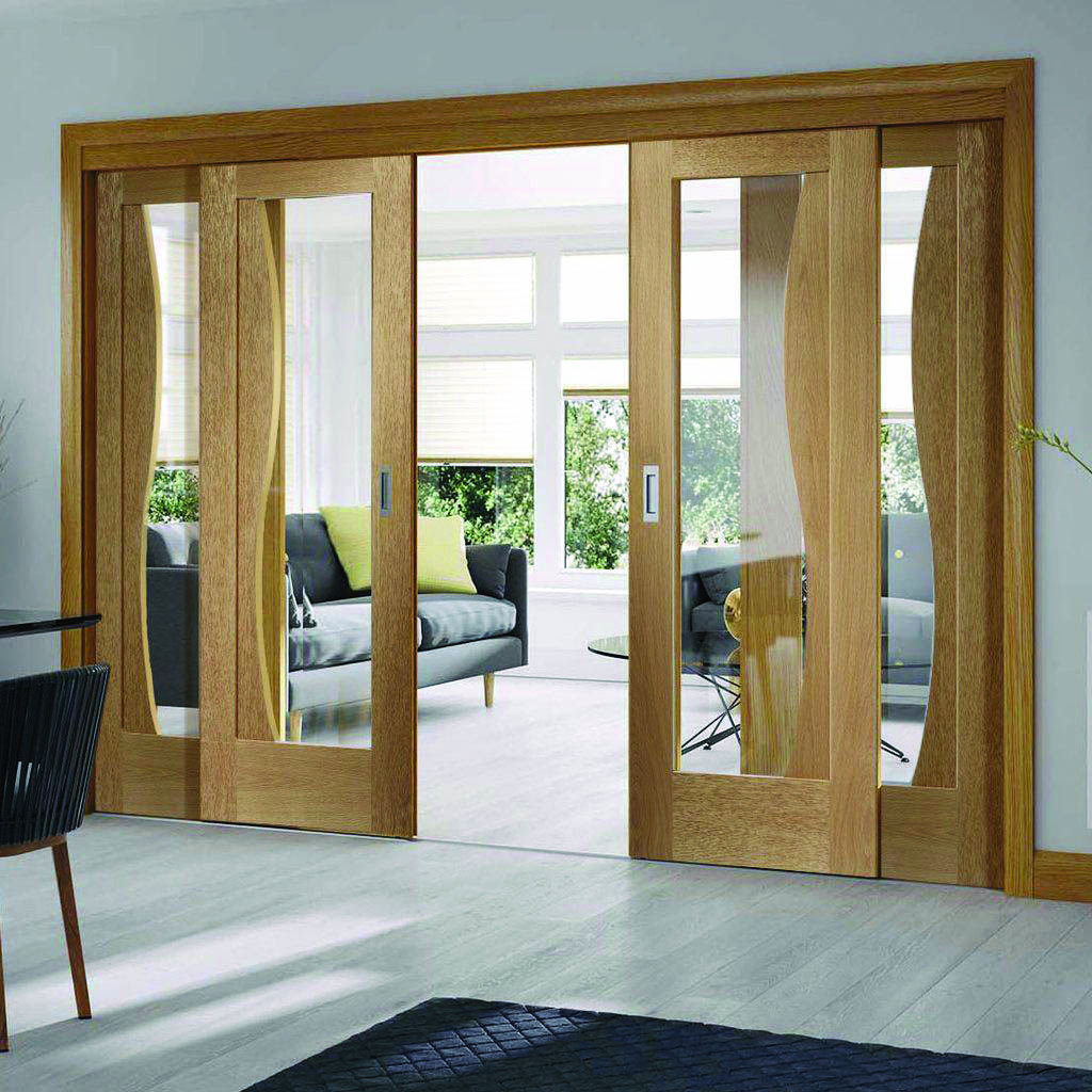Moving door styles for bedroom - Homes Tre  Wooden sliding doors