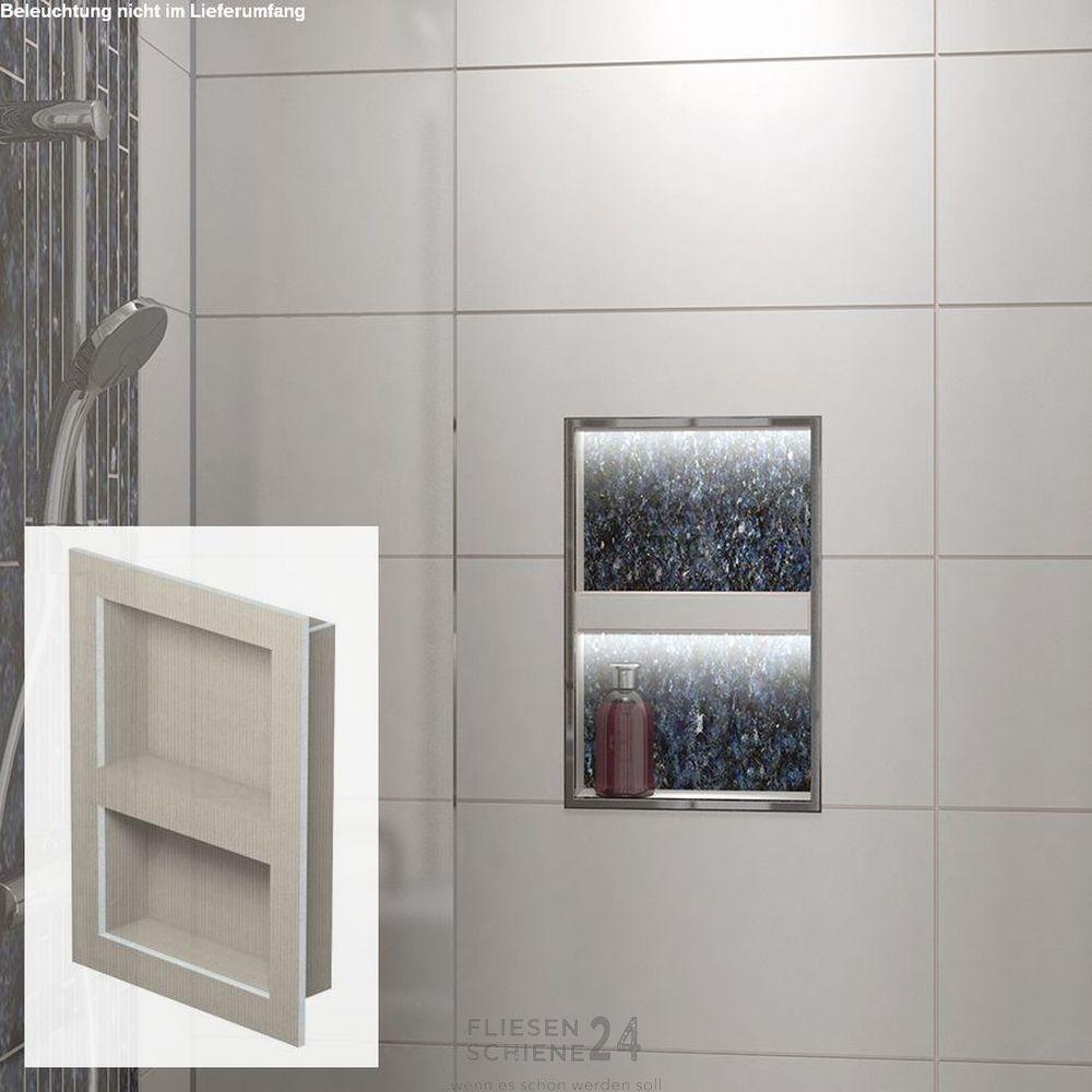 Fliesenschiene24 Wandnischen Ablage L Wandnischen Duschregale Ablage Dusche