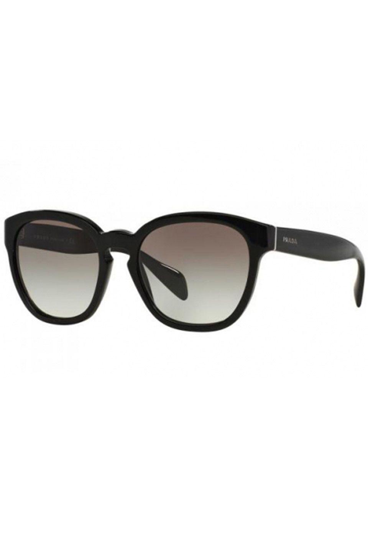 Prada Ladies' PR-17RS Square Sunglasses in Black