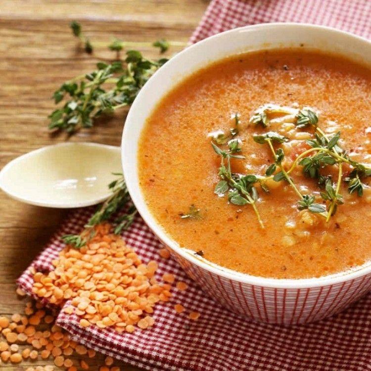 شوربة العدس الأحمر بالدجاج مطبخ سيدتي Recipe Chicken Lentil Lentil Recipes Recipes