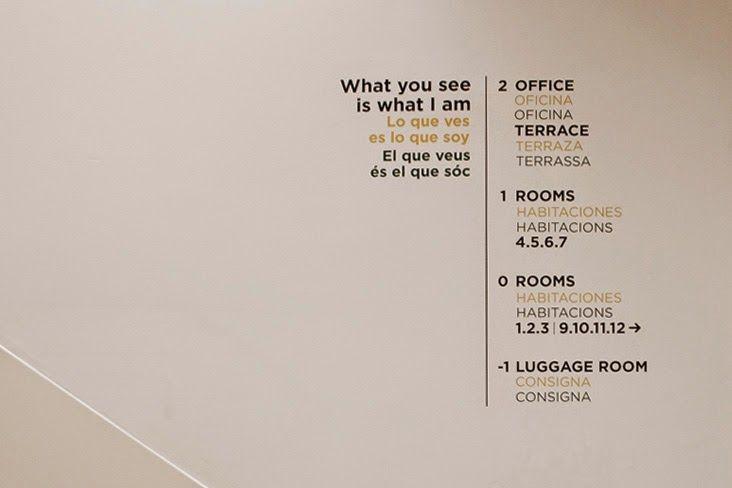 Las paredes hablan en casa bella gracia no me toques las helv ticas blog sobre dise o - Casa bella gracia ...