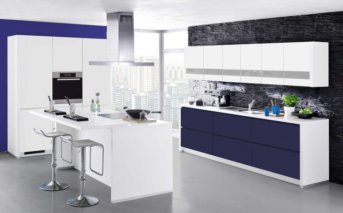 einbauküche alnostar fine •• moderne einbauküche in drei elementen, Wohnzimmer dekoo