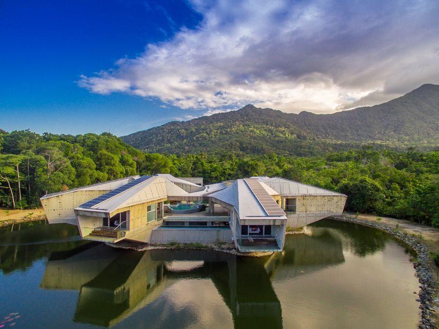 imagen 4 de Alkira, la casa que parece un ovni, en venta por 15 millones de dólares.