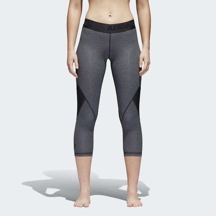 adidas Damen 3//4 Tight Alphaskin Sport 3//4 Tight