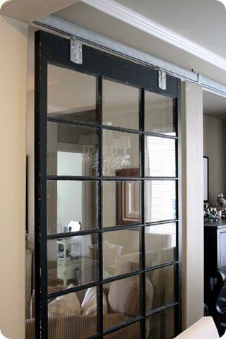 The Dining Room With Images Sliding Room Dividers Glass Barn