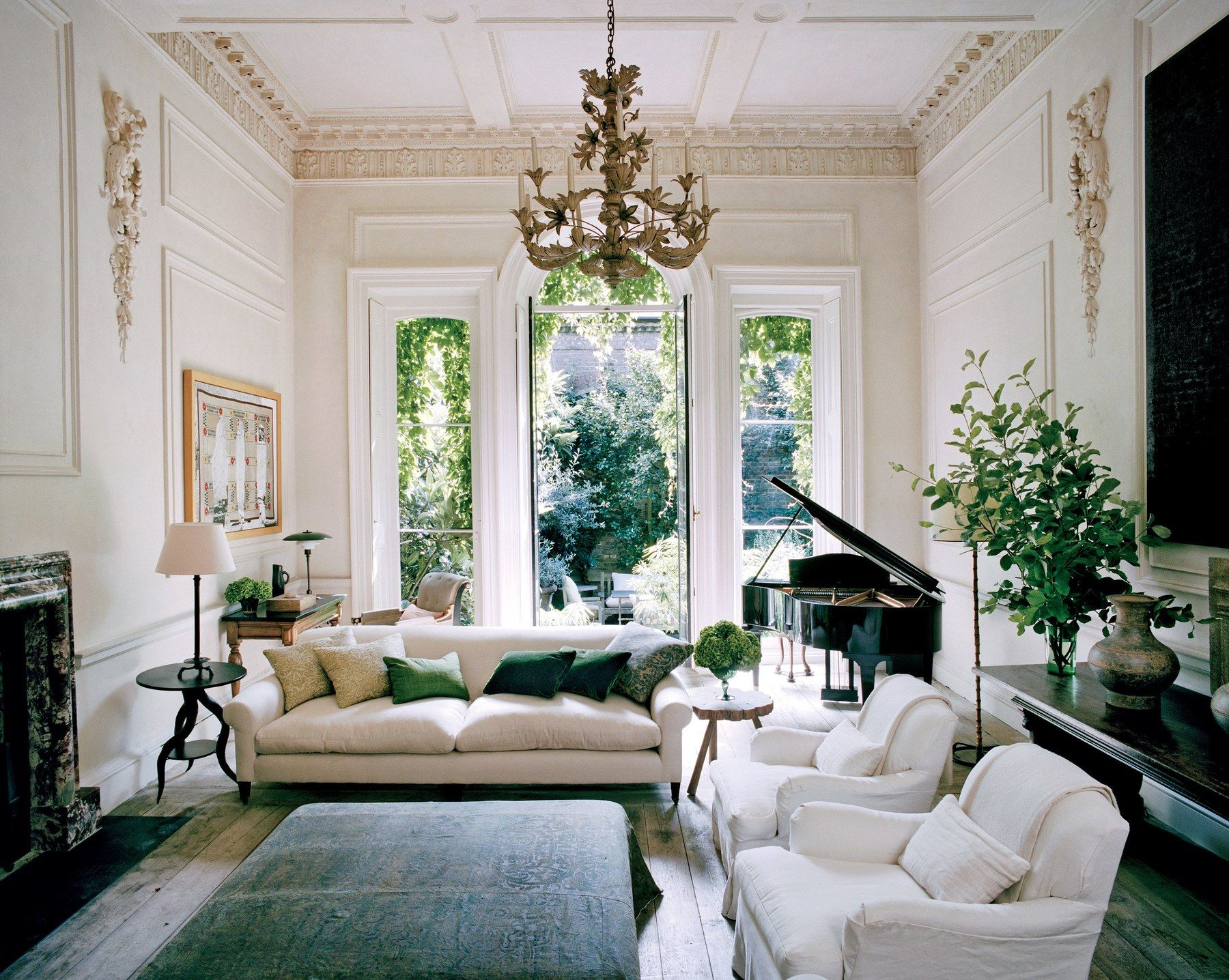 Victoria Beckham S Interior Designer Rose Uniacke S London Home