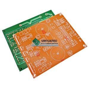 Placa P Montar Amplificador 160w Com Hexfet Gt20d101 Gt20d201