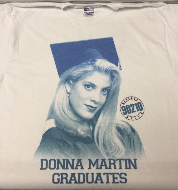 Donna Martin Graduates T-Shirt by famedazed on Etsy