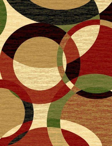 T1011 Black Cream 7 10 X 10 2 Green Rust Burgundy Abstract Area Rug Carpet Persian Rugs Http Smile Ama Rugs On Carpet Contemporary Area Rugs Modern Area Rugs