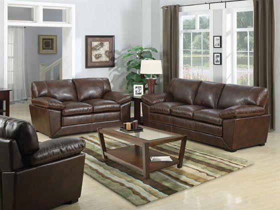 Kaneu0027s Furniture   Mckay 5 Piece Bonded Leather Living Room