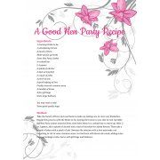 Hen Party Poem A Good Recipe