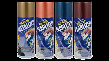 Plasti Dip® Spray i metalfarver og/eller effekt