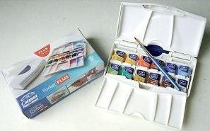 Winsor Newton Cotman Water Colour Pocket Plus Paint Set