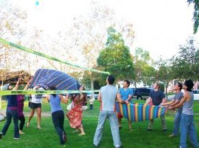water balloon volleyball for summer parties pool party ideas game