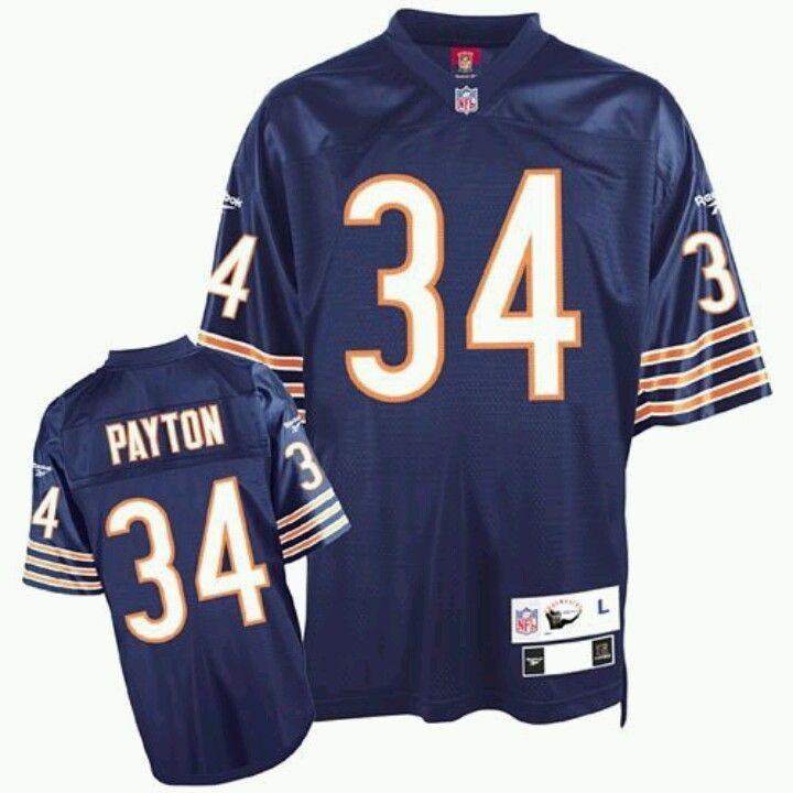 fed653bc79b48 Walter,Payton Bears Home Jersey | I Like Whatever I See & I Look ...