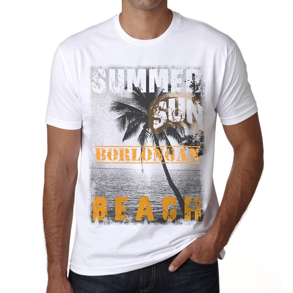 Borlongan ,Men's Short Sleeve Rounded Neck T-shirt