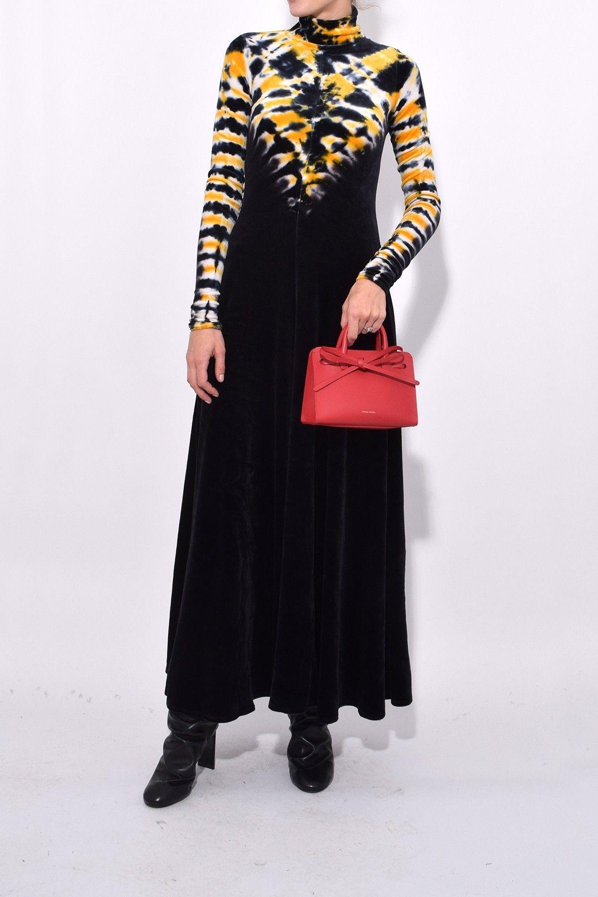 Long sleeve turtleneck dress in yellowblack just in pinterest