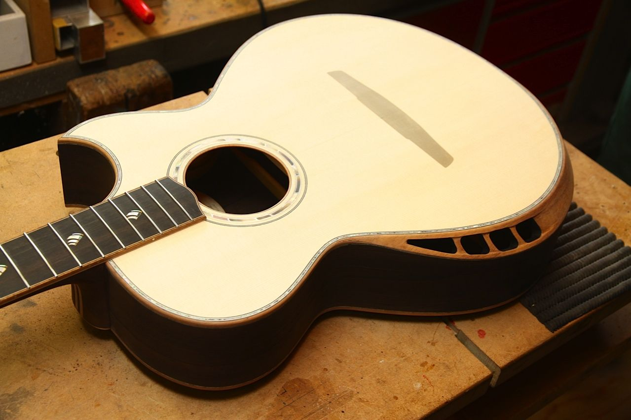 Build Thread Brazilian Rosewood Swiss Alpine Spruce Custom Design Crossover Acoustic Page 7 The Acoustic Guitar Forum Guitar Acoustic Guitar Acoustic
