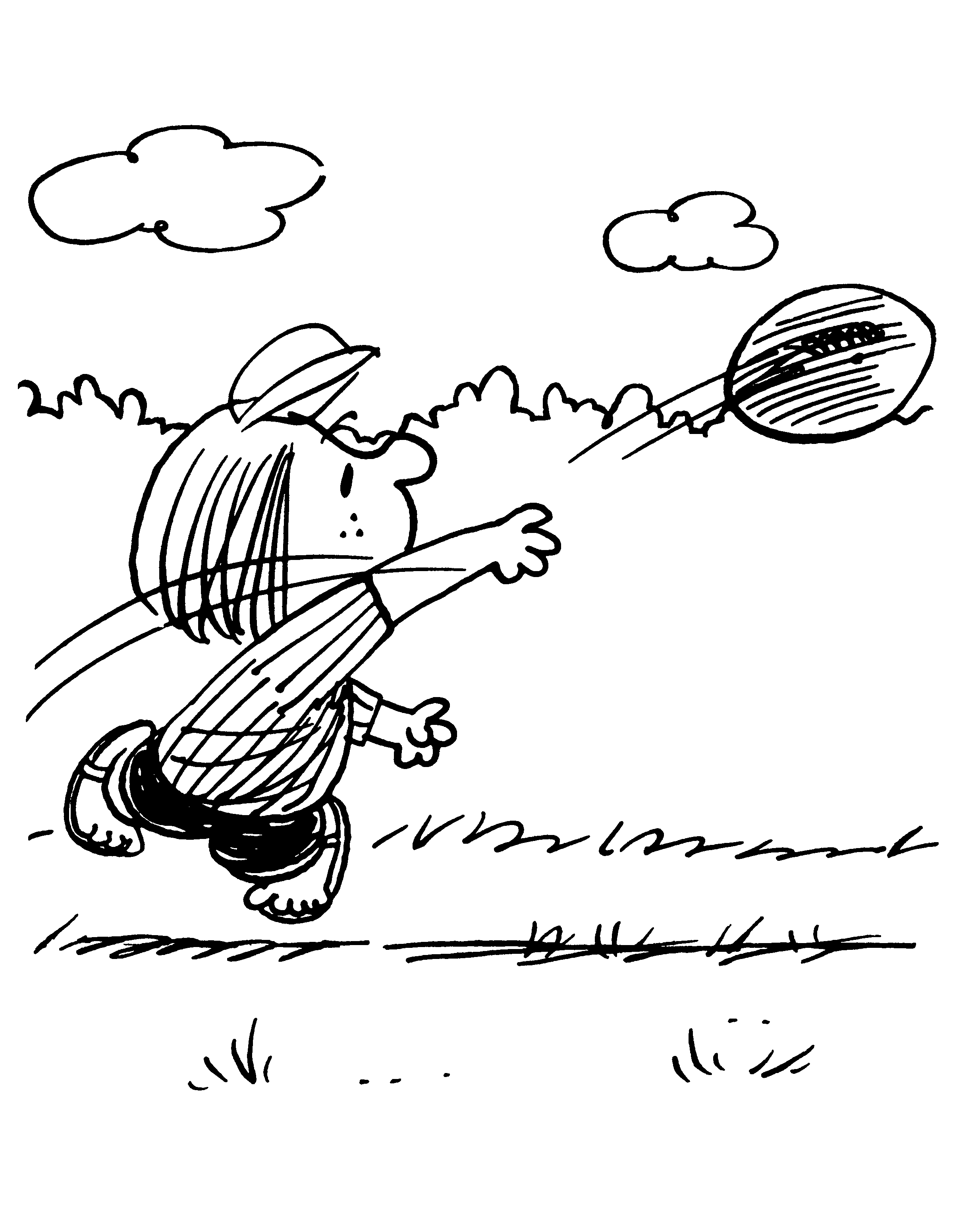 Peppermint Patty - 29 | Charles M. Schulz - Coloring Book ...