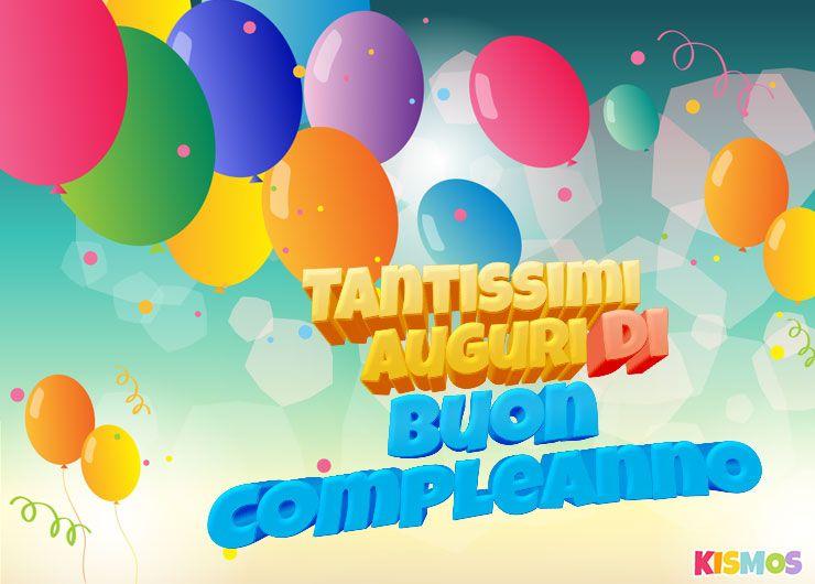 Biglietto Di Auguri Di Buon Compleanno Palloncini Multicolori Per Stampare O Per Scaricare Kismos Inviti Auguri Di Buon Compleanno Palloncini Buon Compleanno