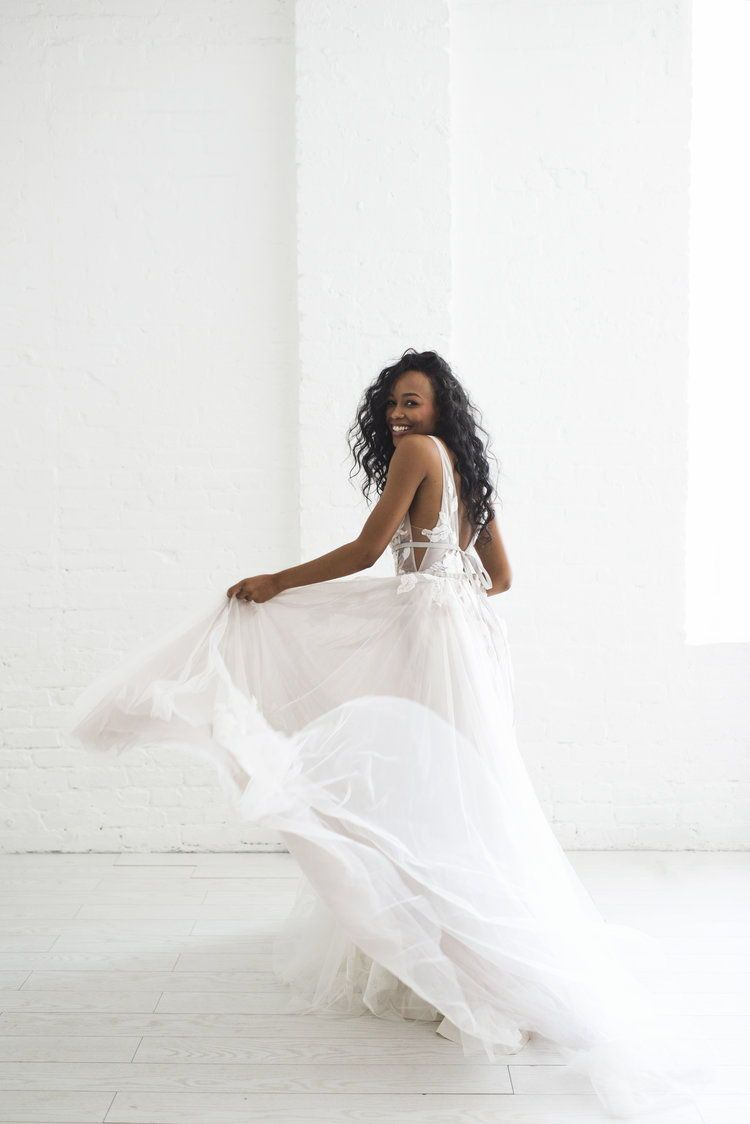 Galatea by willowby ethereal wedding dress that one day