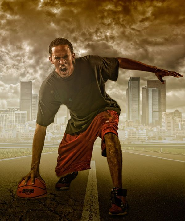 Photoshop Compositing Secrets Create A Studio Sports Portrait Tuts Desig Photo Manipulation Tutorial Photo Manipulation Photoshop Tutorials Sport Portraits