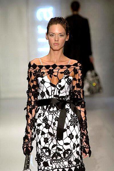 Outstanding Crochet | dress | Pinterest | Vestido encaje, Encaje y ...