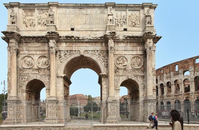 Architecture of Triumph and Victory | Arch of constantine ...