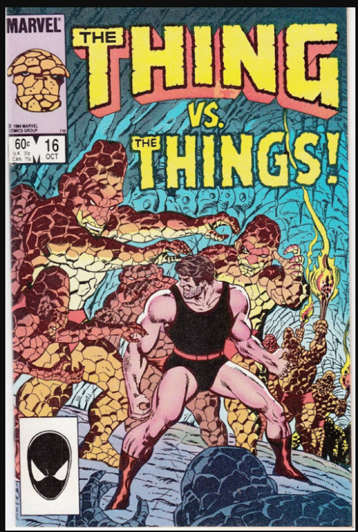 The Thing 16 October 1984 Ron Wilson Bob Layton C A Marvel Comics Covers Comic Covers Marvel Comics