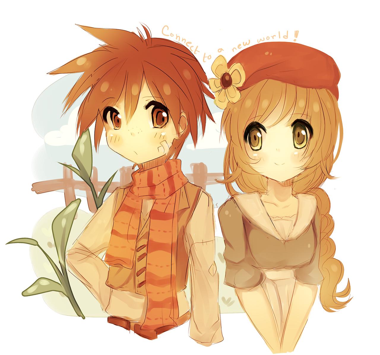 Harvest Moon Harvest moon, Harvest moon game, Anime