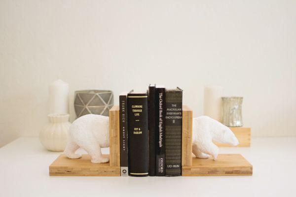 fabriquer des serre livres diy d co yearn magazine sasha pinterest serre livres diy. Black Bedroom Furniture Sets. Home Design Ideas