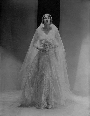 vestido de novia 1930