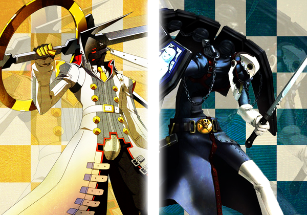 Persona Izanagi And Thanatos By Lewnett Persona Persona