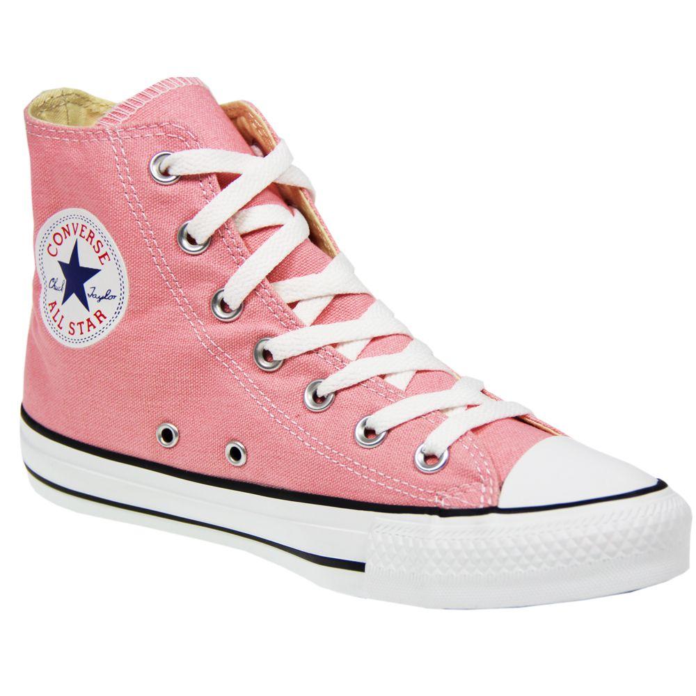 eea8850a8f0a Womens converse allstar chuck taylor canvas 132309 quartz pink hi ...