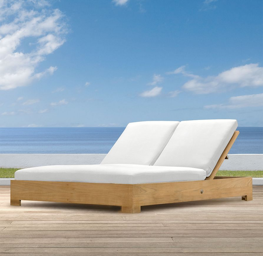 Belvedere Double Chaise In 2019 Chaise Cushions Pool