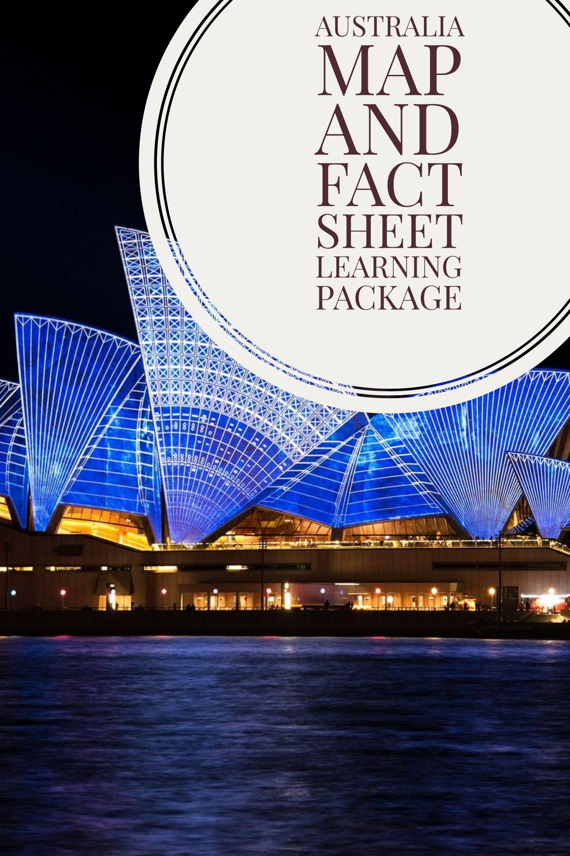 Australia Map Worksheet Printable