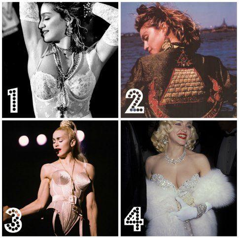 MADONNA:10 stili di un  icona attraverso il  tempo❗️