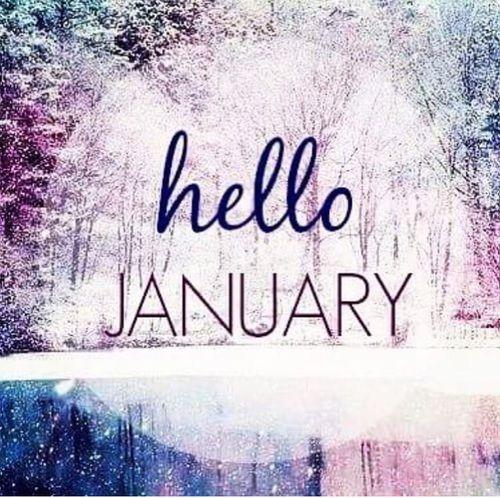 Hello January ?? Bella Montreal ?? | Hello january, January quotes, Hello  january quotes