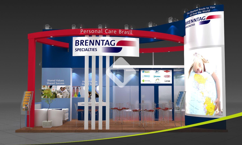 Company: BRENNTAG - Event: FCE Cosmetique 2012 | Exhibition