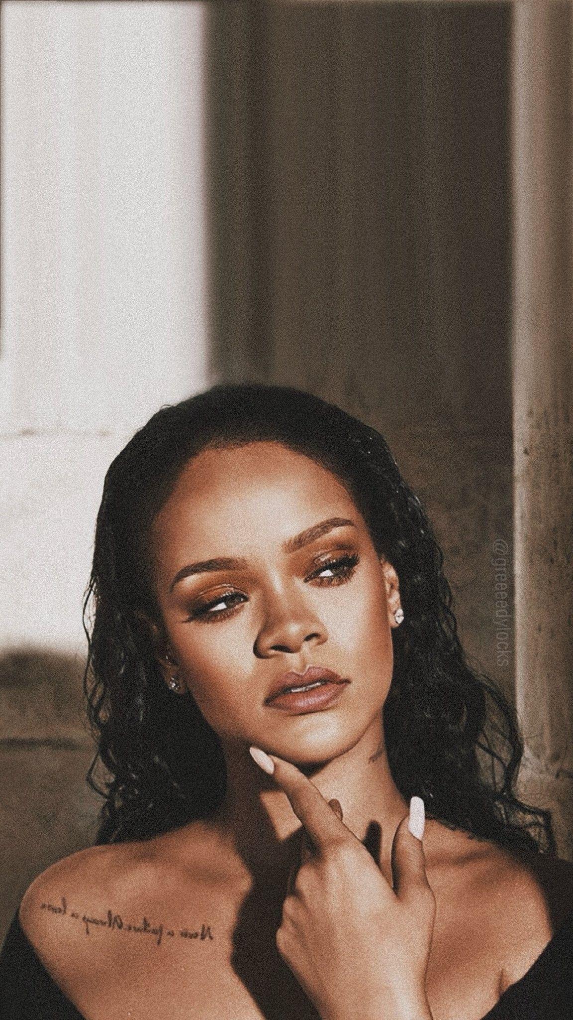 Most Beautiful Woman On The Planet Rihanna Riri Bad Girl Aesthetic Beauty Icons
