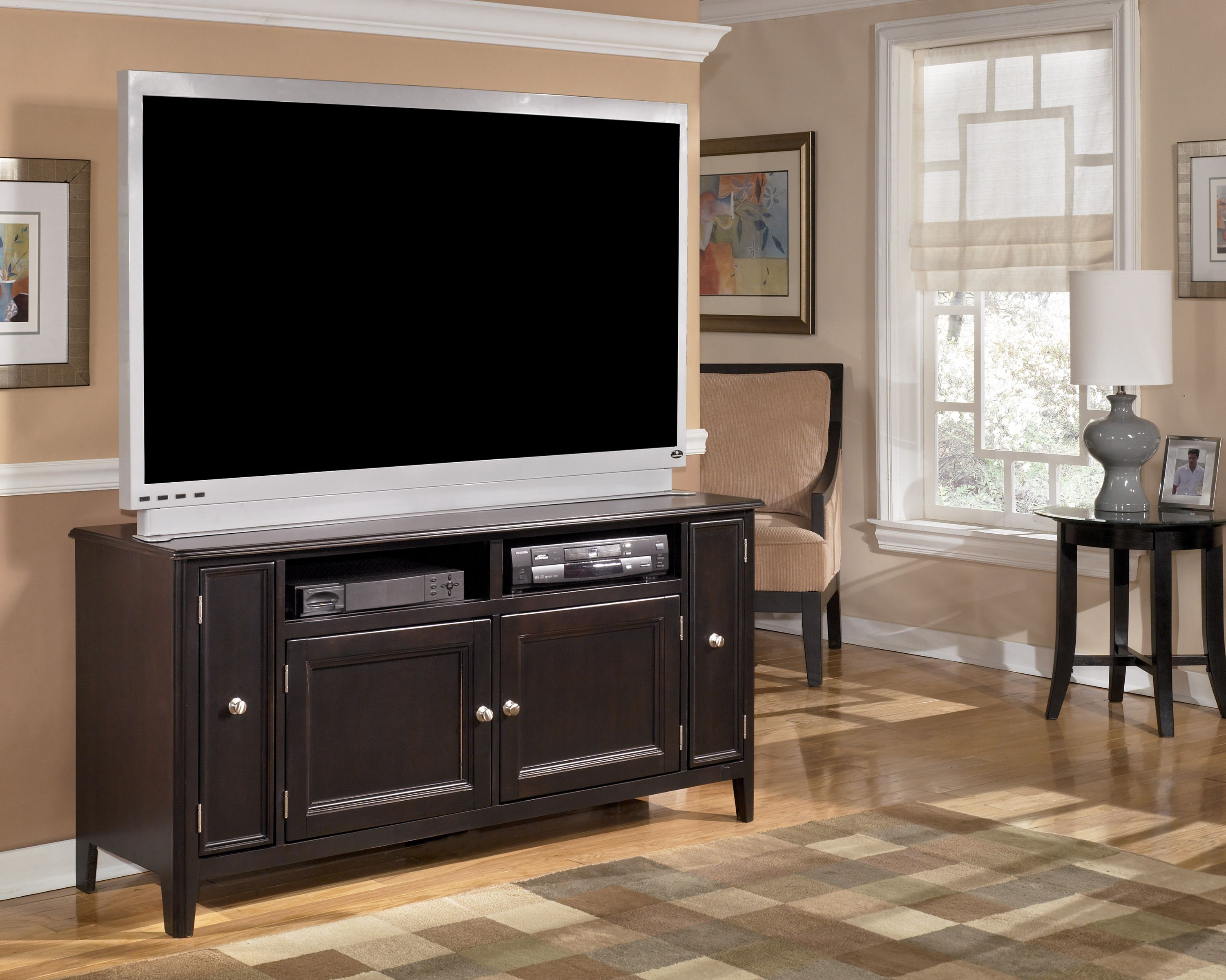 Ashley Furniture W371 38 60 Carlyle Tv Stand Large Tv Stands