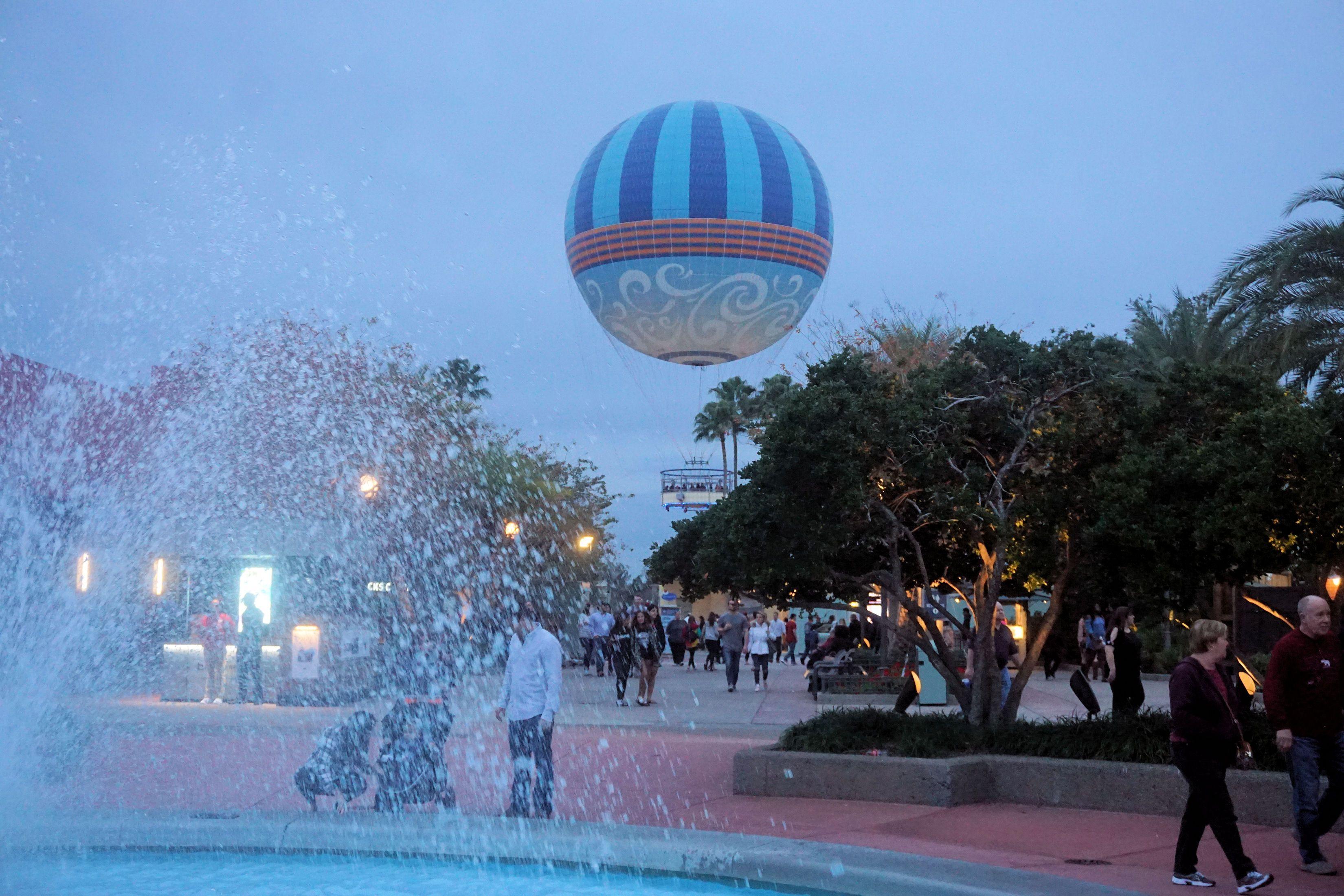 Hot Air Balloon at Disney Springs disneysprings