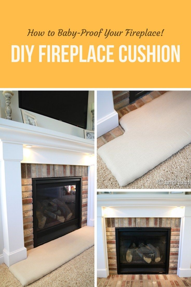 how to baby proof a fireplace diy hearth cushion baby proof