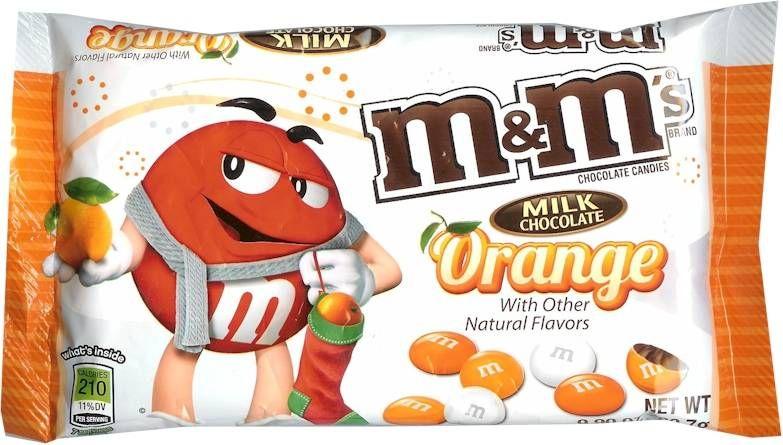 Bag of Orange Milk Chocolate M's