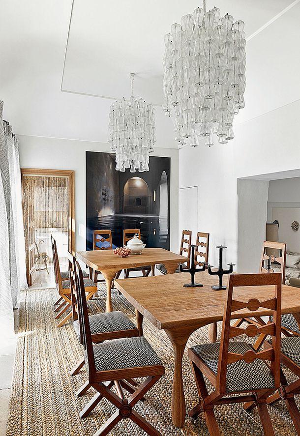 Дом на острове Капри Pinterest Villas, Interiors and Art nouveau - salle a manger louis