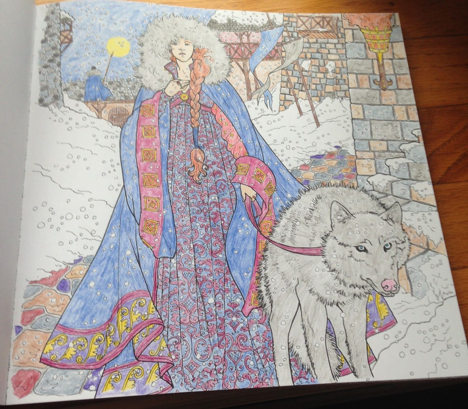 Game Of Thrones Coloring