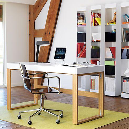 1000 images about desk on pinterest desks glass desk and homework desk cb2 office