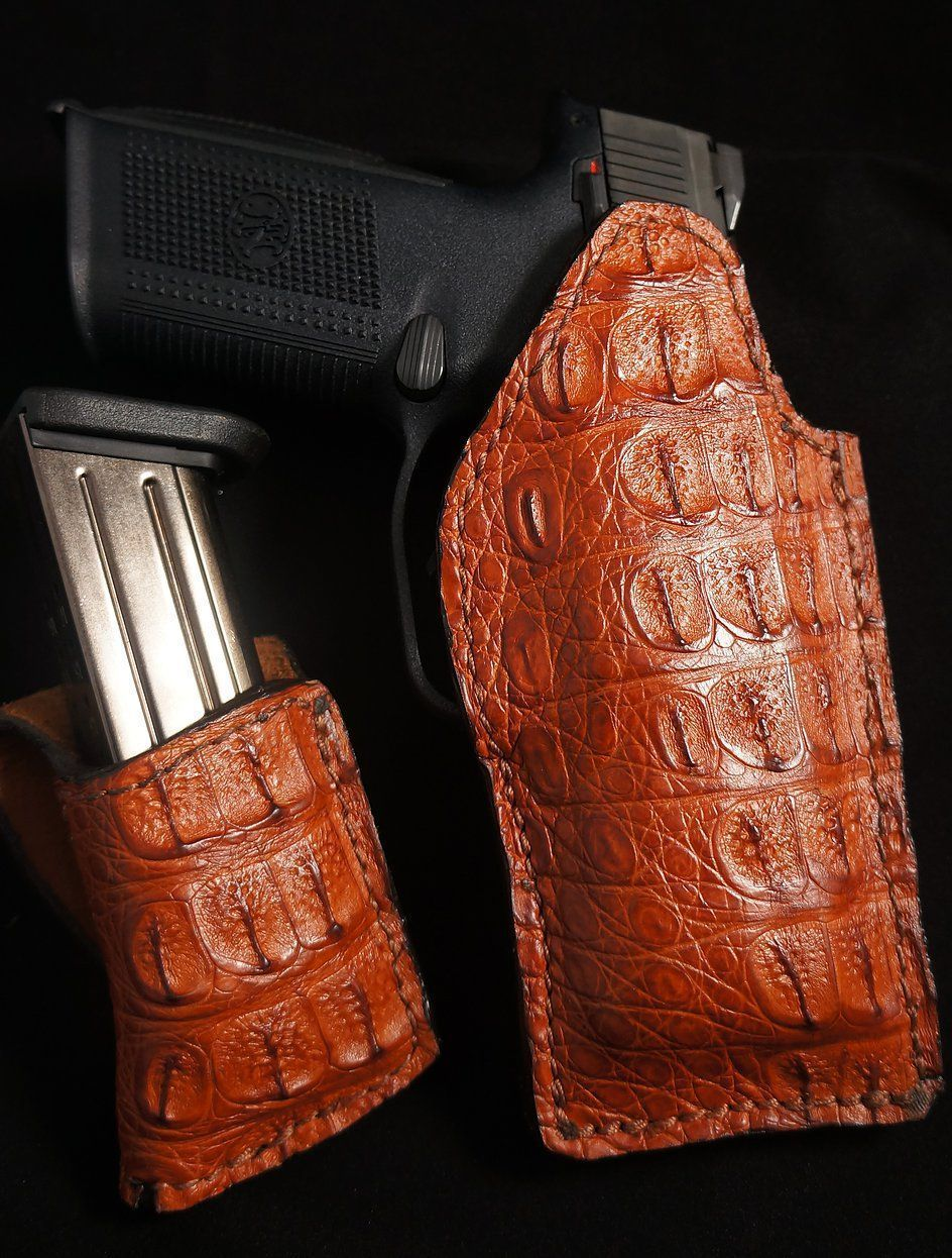 Wicho Leather Creations EXOTIC GUN HOLSTERS Handguns