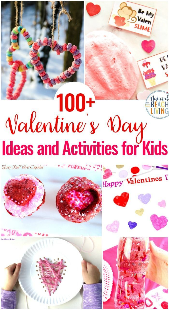 100+ Valentine's Day Ideas and Activities for Kids is part of Preschool valentine crafts, Preschool valentine cards, Toddler valentines, Preschool valentines, Valentine activities, Valentines writing activities - 100+ Valentine's Day Ideas and Activities for Kids and Adults, Valentines Day Slime, Preschool Valentine Cards, Valentine's Day Cards for Kids, Tons of Non Candy Valentine Ideas for Kids with Free Valentine's Day Printables, Valentine Crafts for Preschoolers and Kindergarten, Valentine Activities