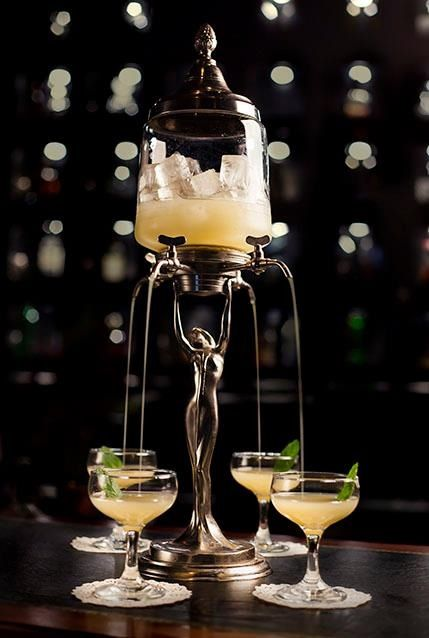 Versailles Cocktail At Eau De Vie, Sydney. Looks Exquisite!